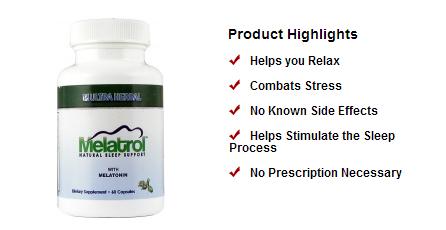Natural Product For Sleep Aid Melatrol Sleep Aid Path Way To